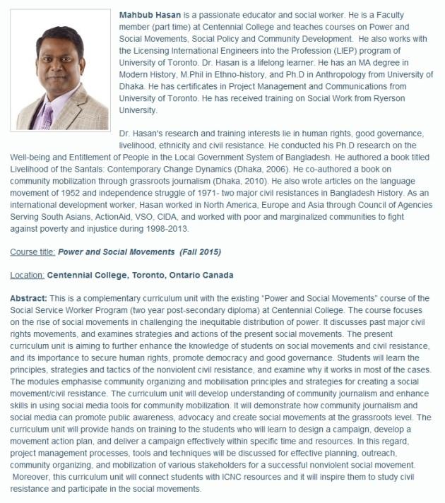 Dr. Mahbub Hasan