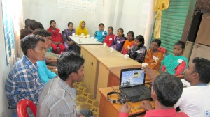 The youth are very interested to connect with global community through social media and online tools.