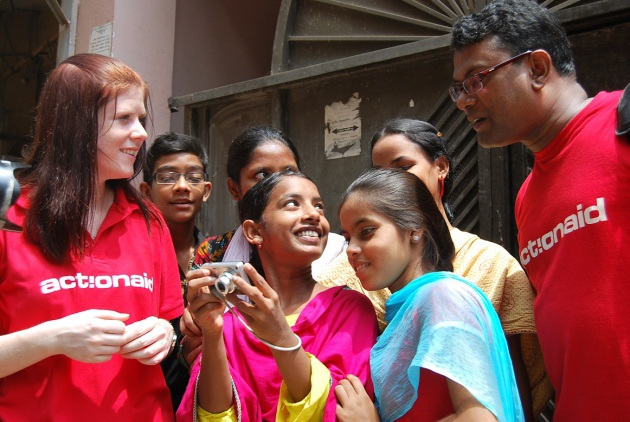Photo 2-Happy Children of Micro Finance Group Members learning photography